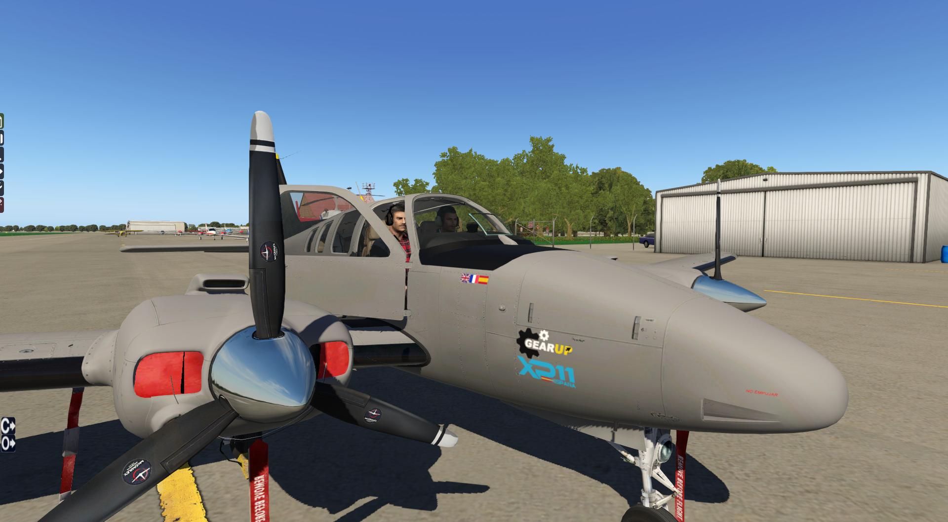 Vuelta al mundo en Beechcraft Baron