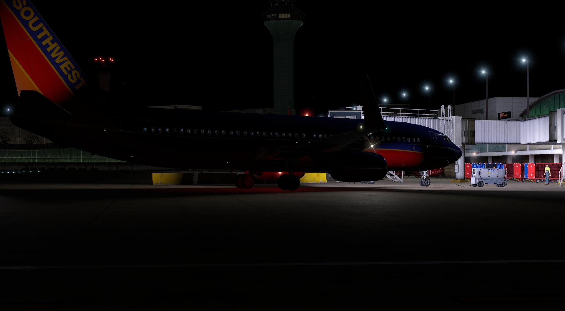 Luces del avión