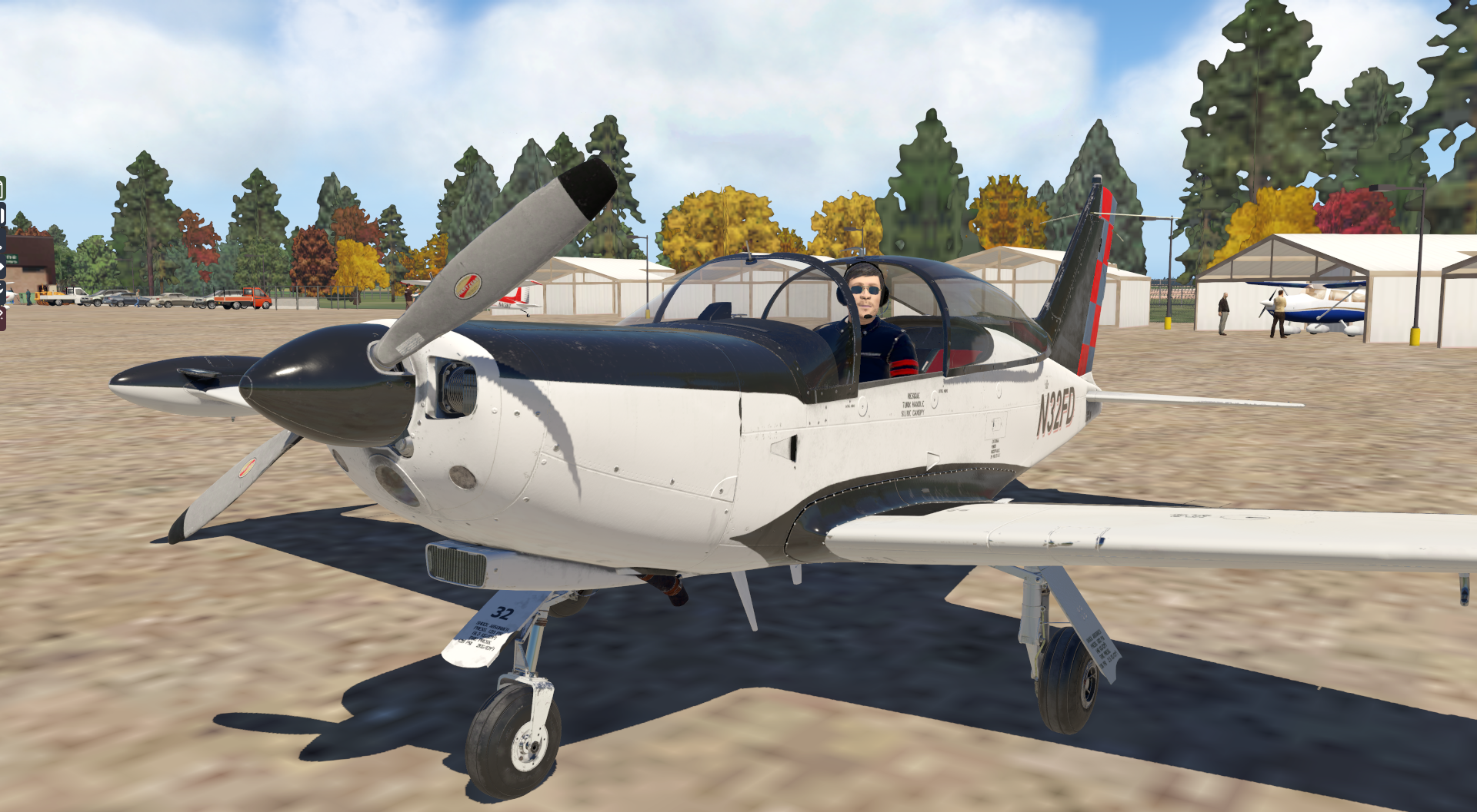 Transición a aviones complejos hélice de paso variable