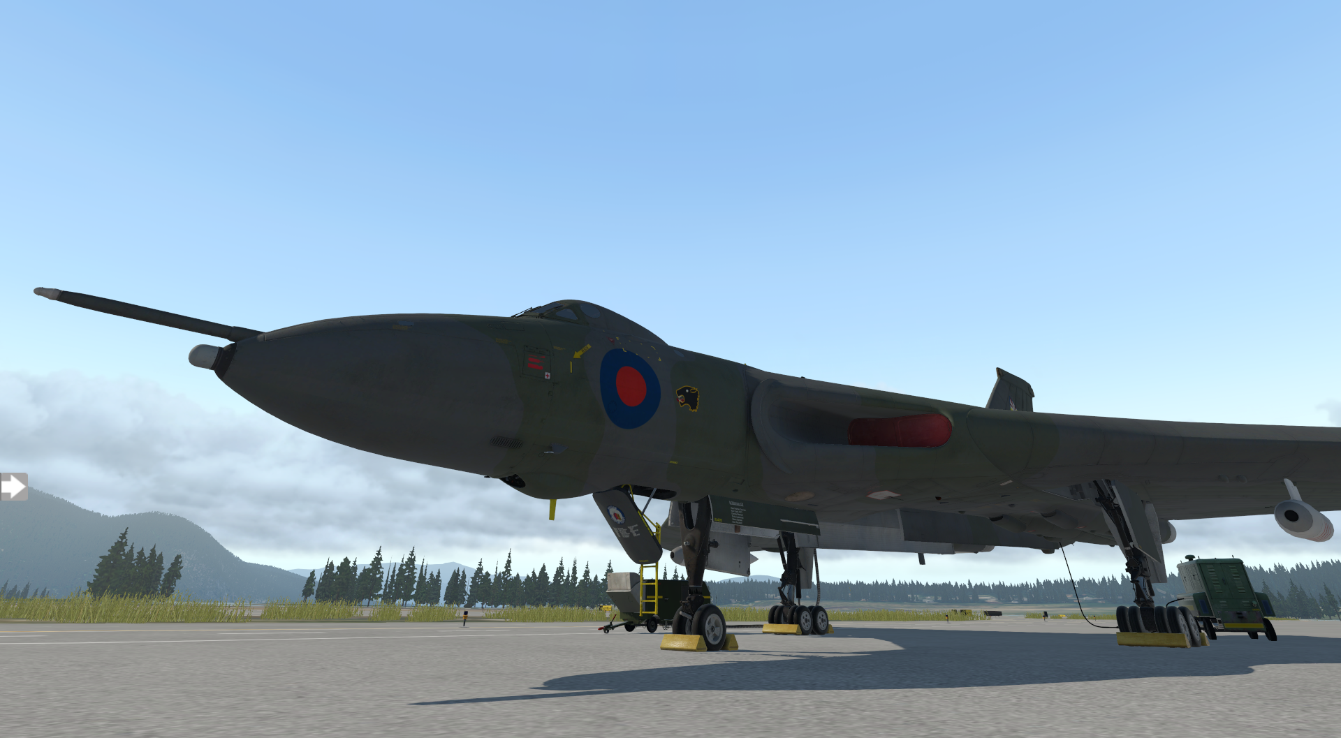 Avro Vulcan de Just Flight para X-Plane 11