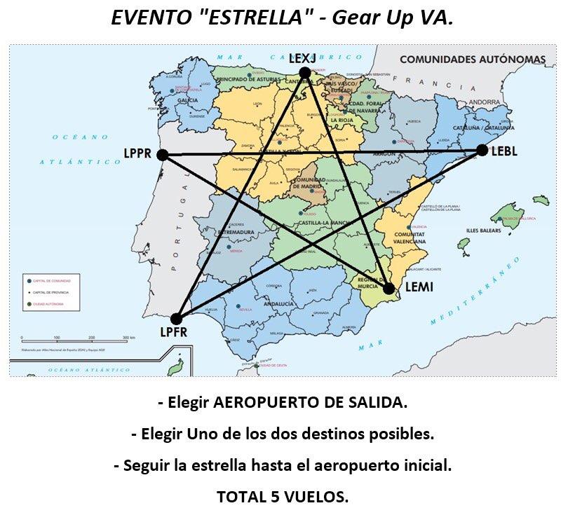 Evento Estrella, Aerolínea Virtual