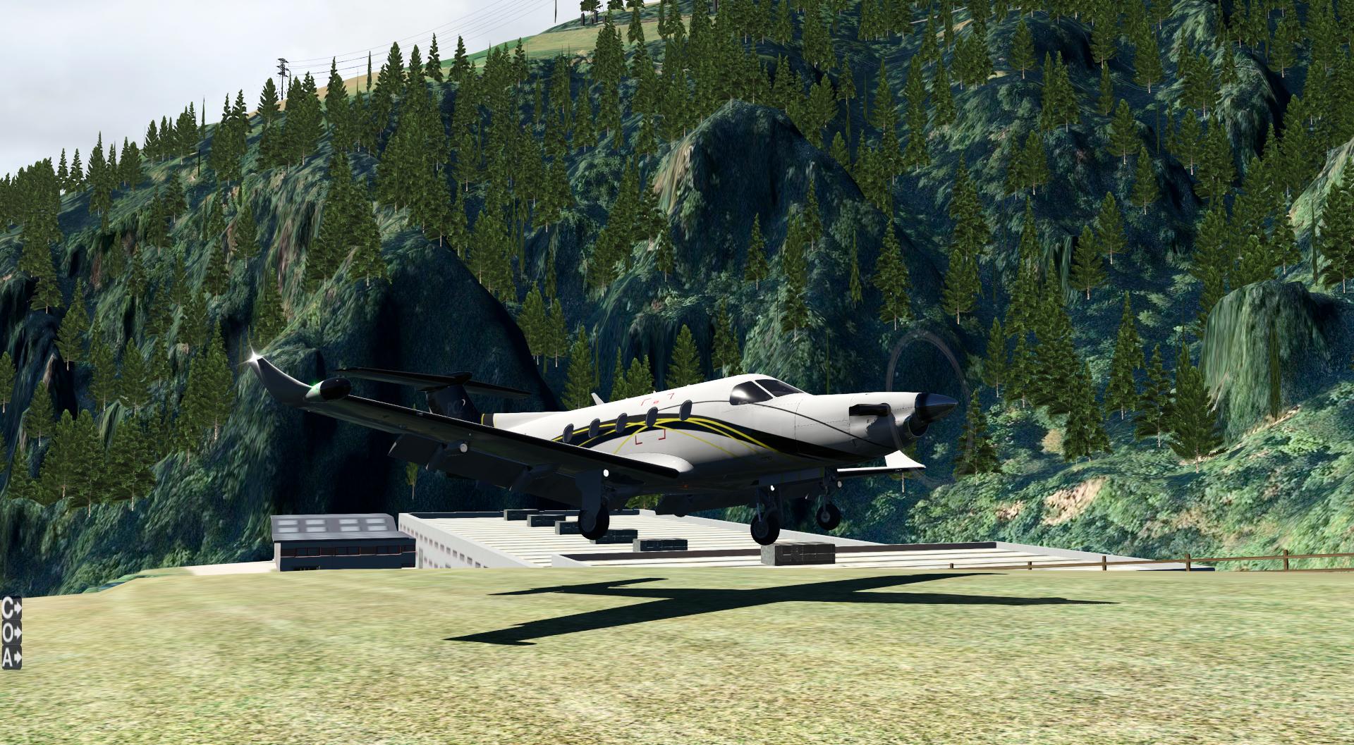 Locher Airfield en X-Plane 11 y Prepar3D