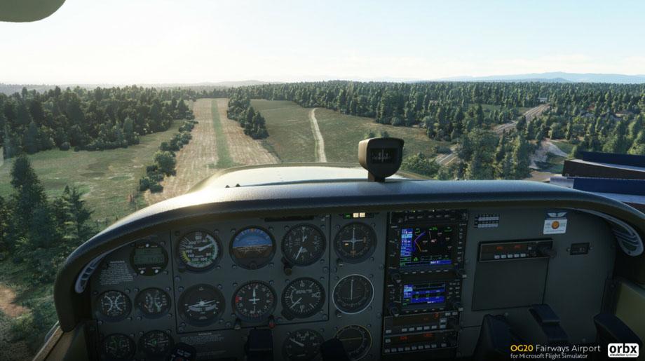 Primer escenario de ORBX gratuito para Microsoft Flight Simulator