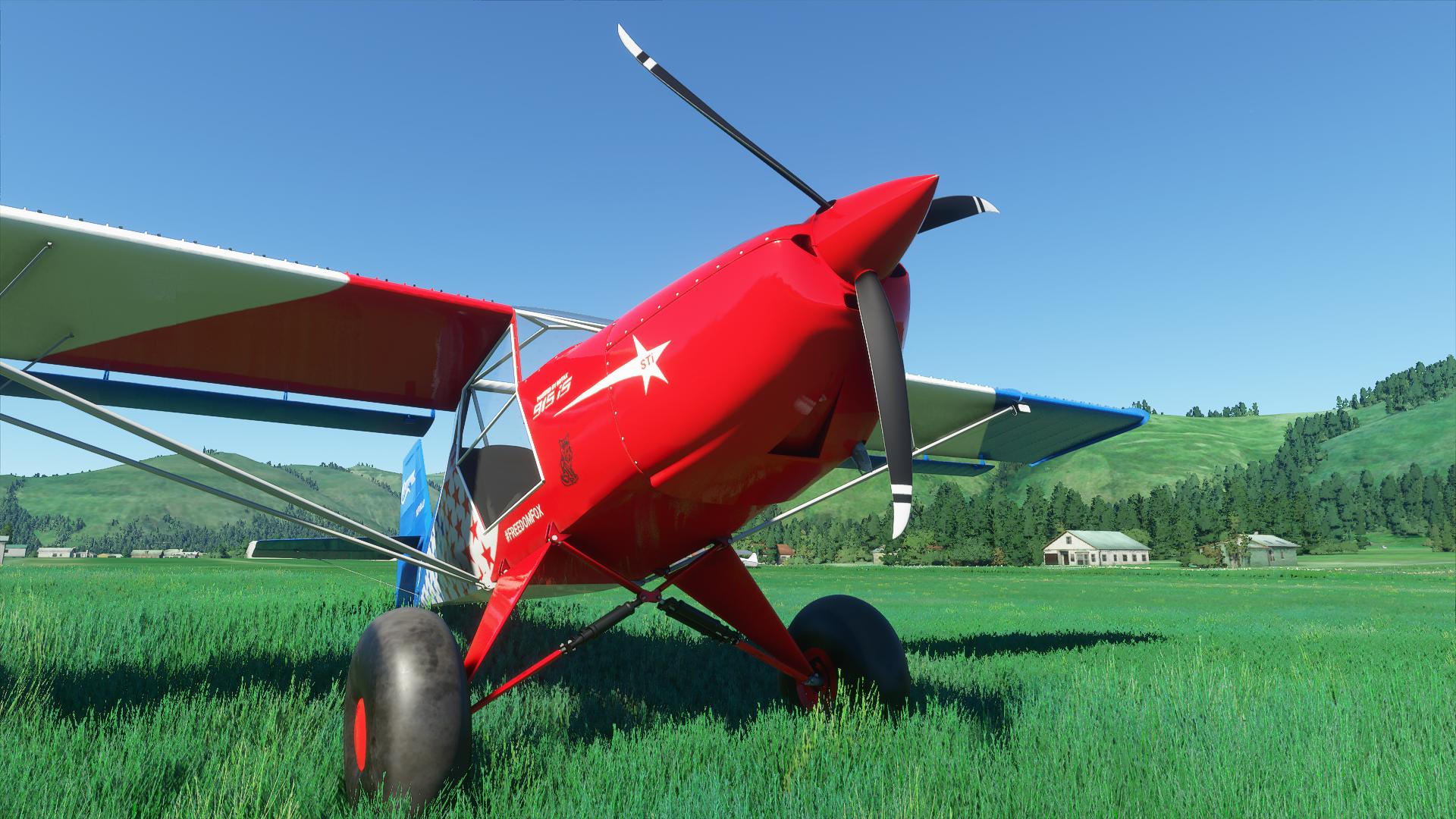 Big Tire Productions KitFox Flight Simulator ¡OJO!