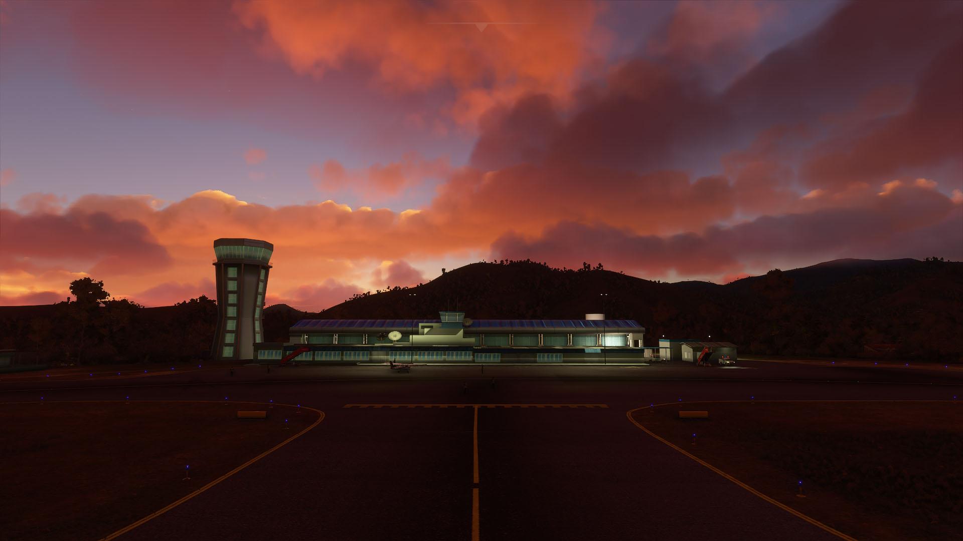 Review: Sierrasim Antonio Nariño y La Nubia Airport
