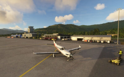 Review: PYREEGUE Dev Co – Tivat, Montenegro para Microsoft Flight Simulator