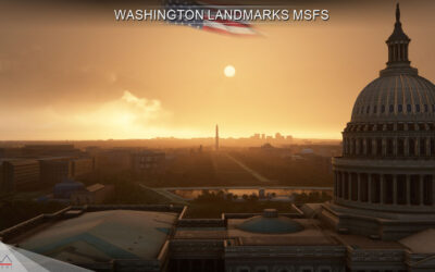 Review: Drzewiecki Design Washington Landmarks para Microsoft Flight Simulator