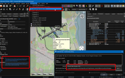 Little Navmap 2.6 beta compatible con MS Flight Simulator