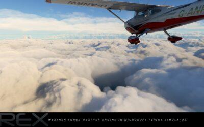 Weather Force 2020 de REX para Flight Simulator