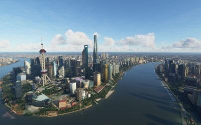 Review: SamScene3D Shanghai City Times para Microsoft Flight Simulator