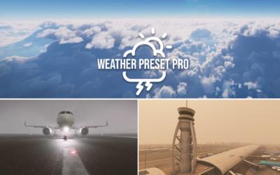 SoFly Weather Preset Pro para Microsoft Flight Simulator