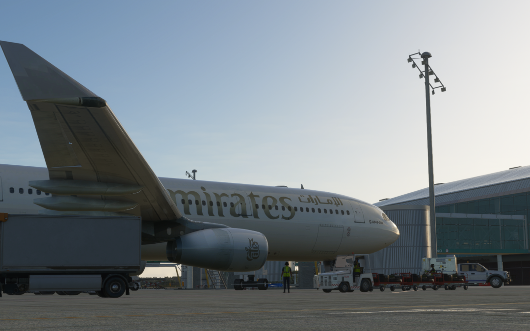 Airbus A330 Merge por AbadStudios Flight Simulator