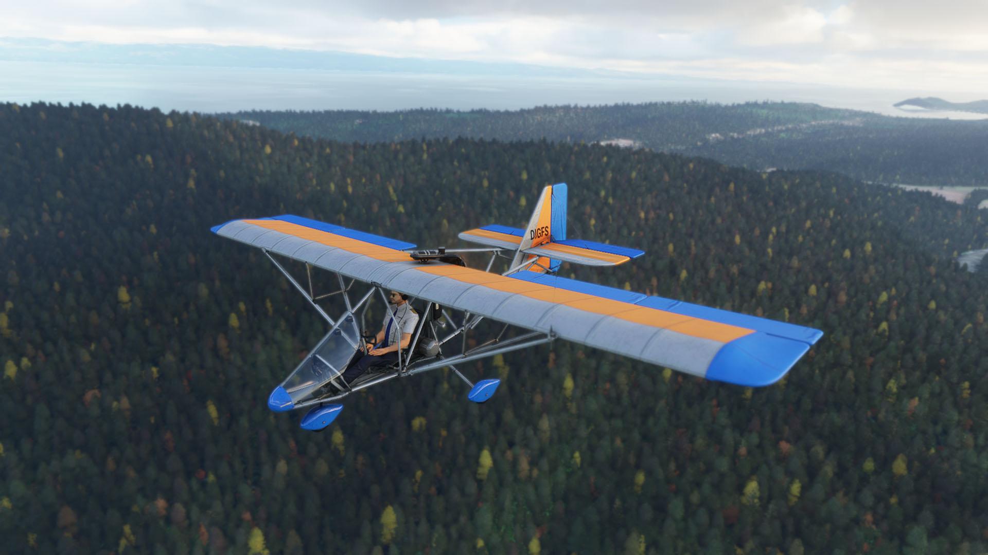 Nemeth Designs Aero-Works Aerolite 103 para MSFS