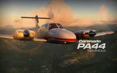 Review Carenado PA44 Seminole para MSFS