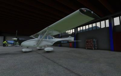 Tutorial Cessna 172 y vuelo completo VFR