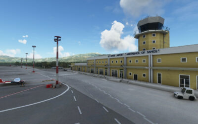 Terrainy Studios Samos International Airport para MSFS