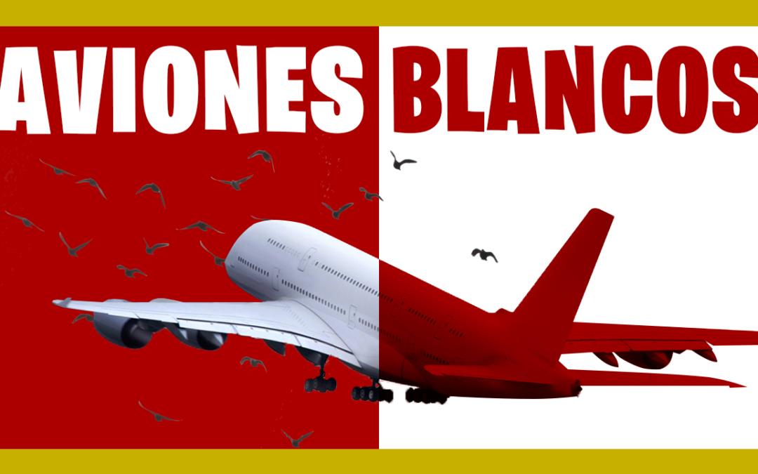 ¿Por Qué los Aviones son de Color Blanco? 🎨