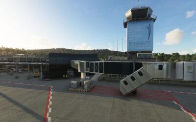 TDM Scenery Design Aeropuerto de A Coruña para MSFS