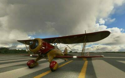 Carenado Waco YMF5 para Microsoft Flight Simulator
