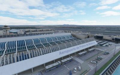Aeropuerto Palma de Mallorca de JustSim para MSFS
