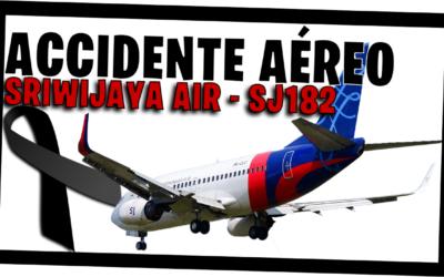 Accidente Sriwijaya Air Avión Boeing 737-500