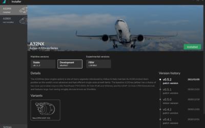 🥇Instalador personalizado para el Mod A320 & A380 de FlyByWire