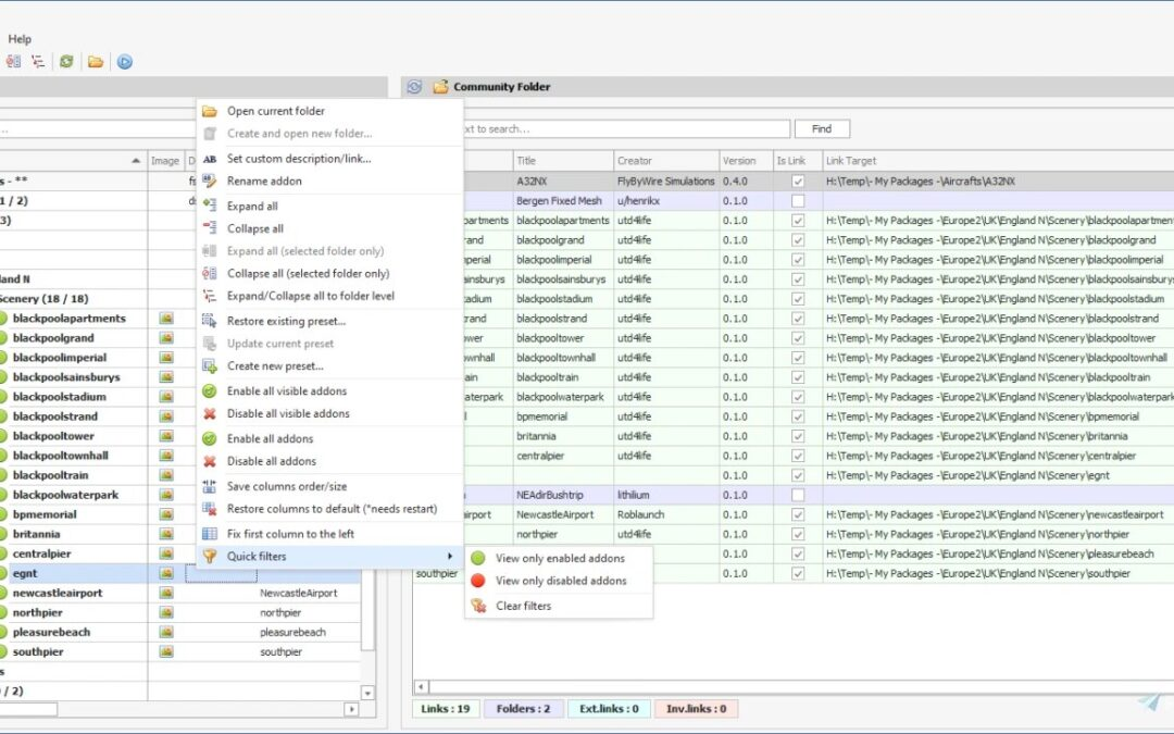 MSFS Addons Linker. Utilidad gratuita para instalar tus addons