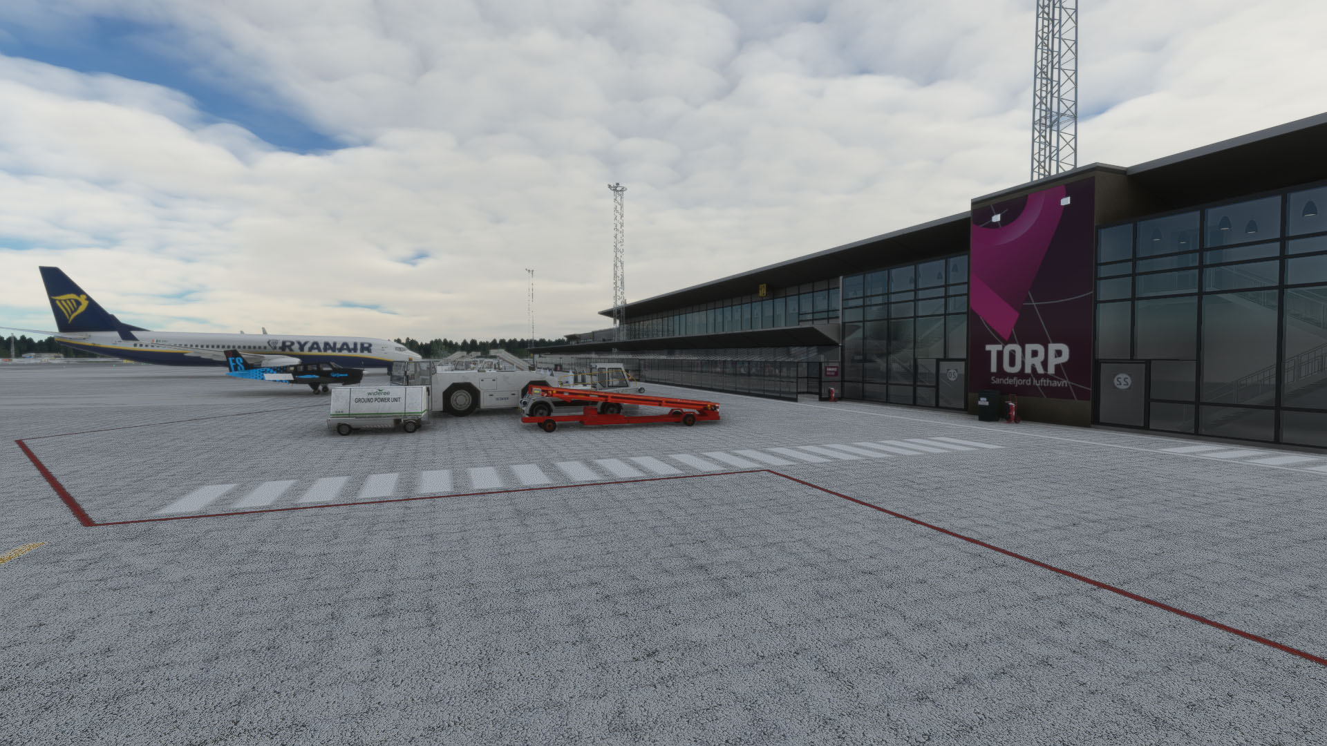 ORBX ENTO Sandefjord Airport para MSFS