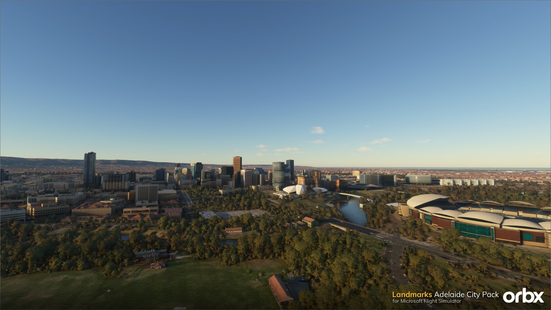 ORBX Landmarks Adelaide City Pack para Microsoft Flight Simulator