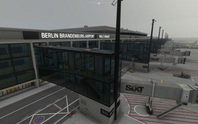 Aerosoft Berlín Brandenburgo para Microsoft Flight Simulator
