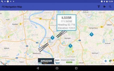 FS Navigation Map. Plugin Android para MSFS