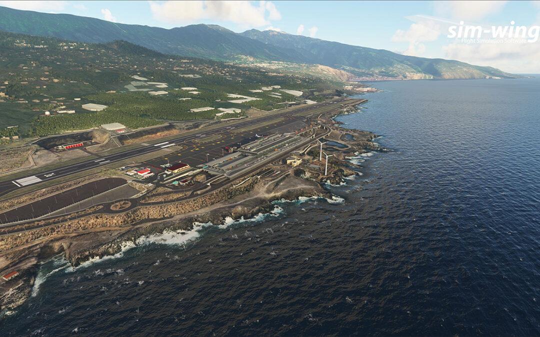 Aerosoft Sim-Wings La Palma para Microsoft Flight simulator
