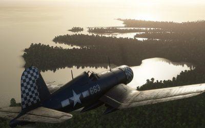 Milviz FG-1D Corsair para Microsoft Flight Simulator