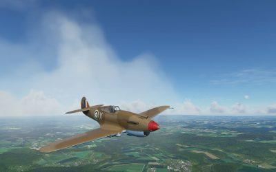 Big Radials P-40B Tomahawk para Microsoft Flight Simulator