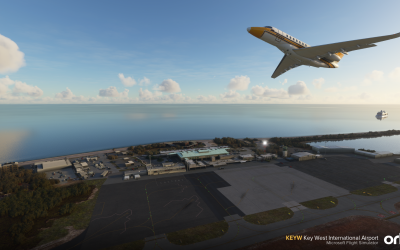 ORBX Key West International Airport y Meribel Airport para Microsoft Flight Simulator