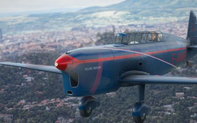 Bluemesh Caudron Rafale 430 para Microsoft Flight Simulator