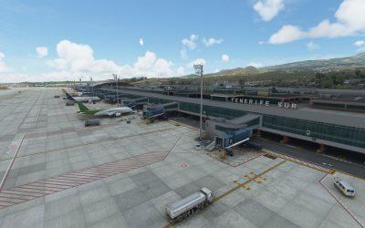 Aerosoft Sim-Wings Tenerife Sur para MSFS