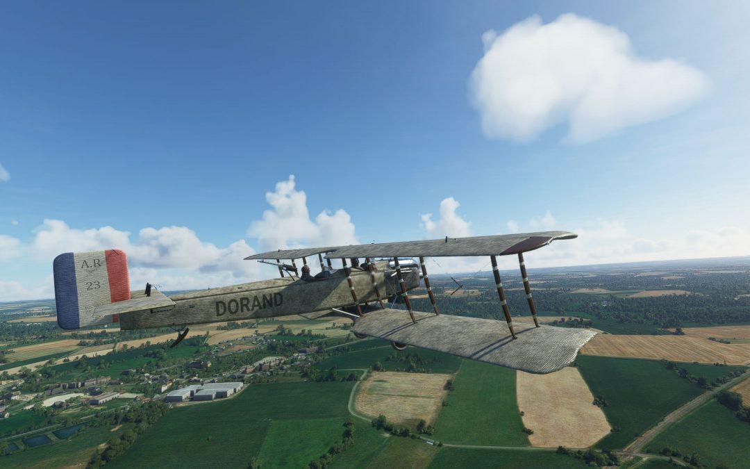 Realphysics Dorand AR1 A2 200 para Microsoft Flight Simulator