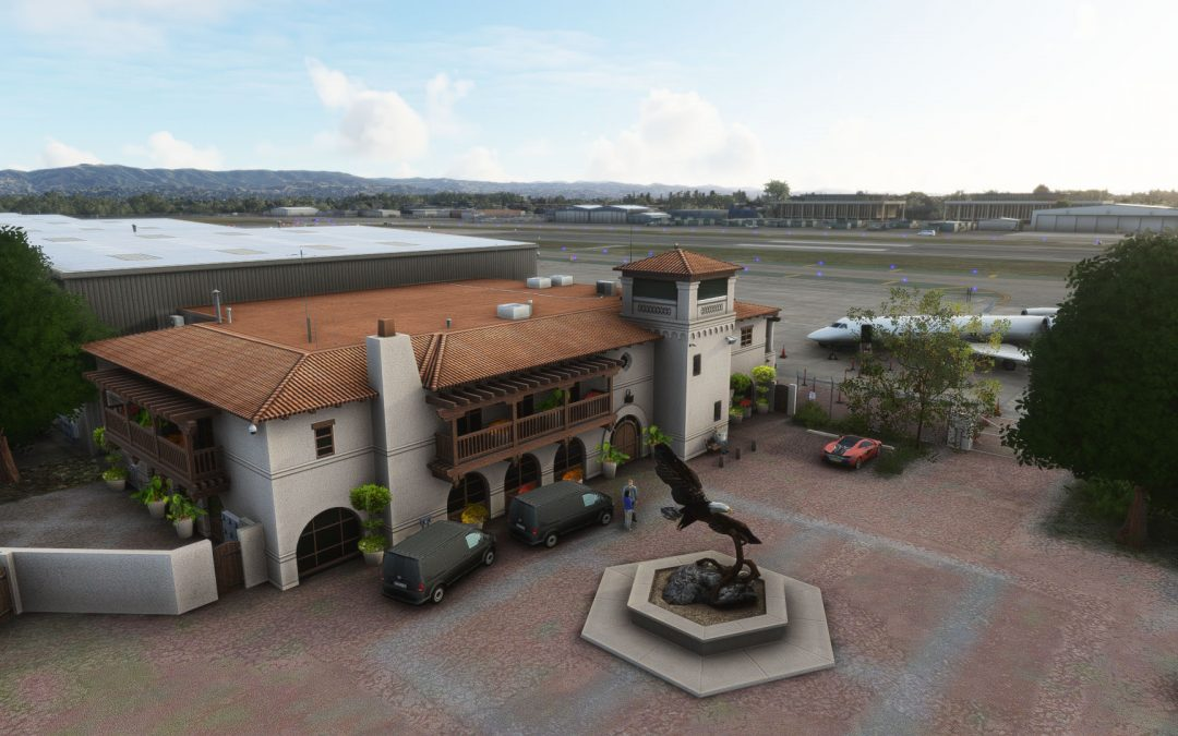 ORBX KVNY Van Nuys Airport para Microsoft Flight Simulator