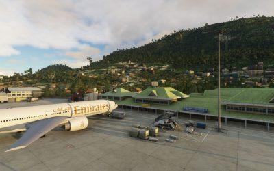 FSDG Seychelles para Microsoft Flight Simulator