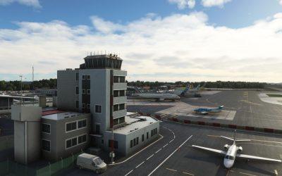 Flightbeam Biarritz-Pays Basque Airport para Microsoft Flight Simulator