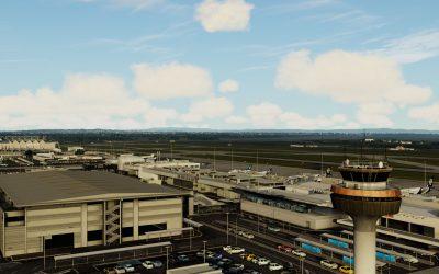 Flightbeam Auckland International para Prepar3D