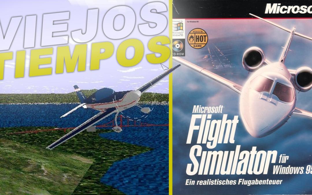 Microsoft Flight Simulator 95 ¿o FS 6.0?