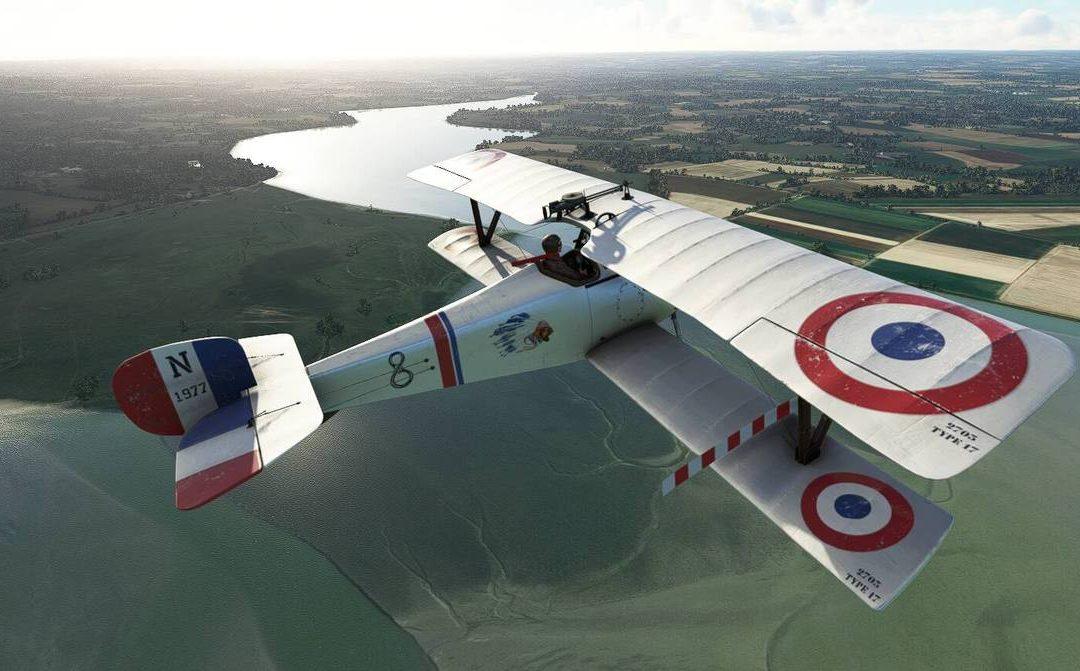 Big Radials Nieuport 17 Microsoft Flight Simulator