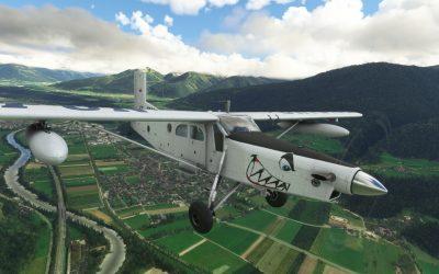 Milviz PC-6 Turbo Porter para Microsoft Flight Simulator
